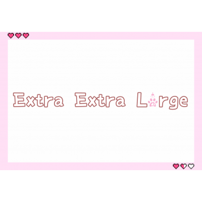 6-XXL Extra Extra Large 70cm-150cm