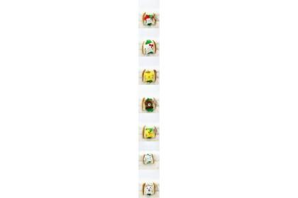 Bread Line Friend/Hello Kitty/Melody/Cinnamoroll/Pudding SoftToys/PlushToys/KidsToys 7inch 21cm 面包夹心布朗熊/美乐蒂/凯蒂猫/布丁狗/玉桂狗娃娃玩具公仔 7寸