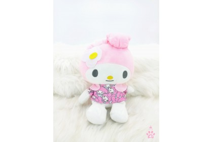 Hello Kitty/Melody/Cinnamoroll/Dog SoftToys/PlushToys/KidsToys 7inch 21cm 印花美乐蒂/玉桂狗/凯蒂猫/狗娃娃玩具公仔 7寸