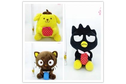Pudding/XO/Cat With Gift SoftToys/PlushToys/KidsToys 25-35cm礼物布丁狗/XO/猫娃娃玩具公仔25厘米-35厘米
