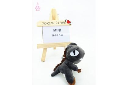 Colour Dinosaur MiniSoftToys/PlushToys/KidsToys/Key Chain 5-15cm  彩色恐龙迷你娃娃玩具公仔钥匙圈5厘米-15厘米